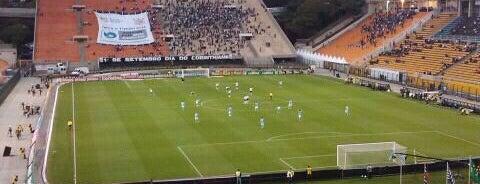 Estádio Municipal Paulo Machado de Carvalho (Pacaembu) is one of em Sampa.