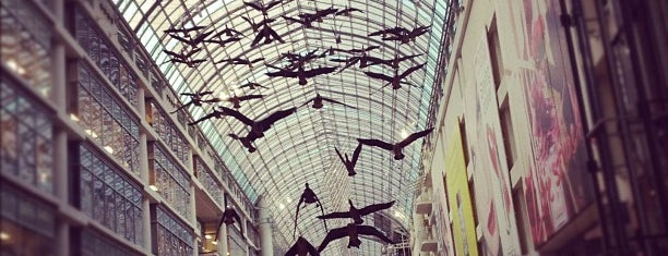 CF Toronto Eaton Centre is one of Shopping malls of the Greater Toronto Area (GTA).