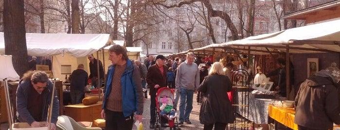 Flohmarkt Boxhagener Platz is one of Berlino.