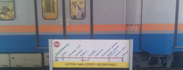 Zeytinburnu Metro İstasyonu is one of M1A / M1B - Metro İstasyonları.