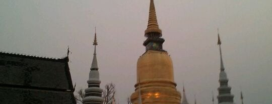 Wat Suandok is one of Guide to the best spots Chiang Mai|เที่ยวเชียงใหม่.