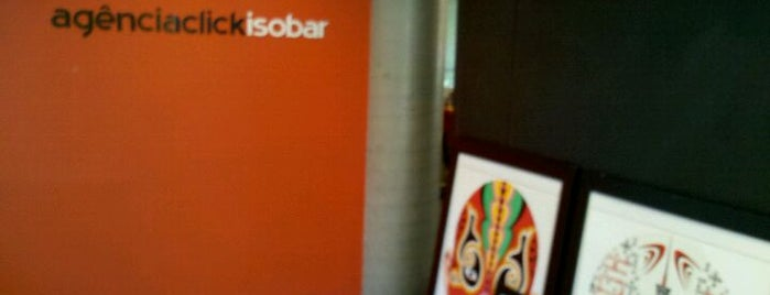 Isobar is one of Agências.
