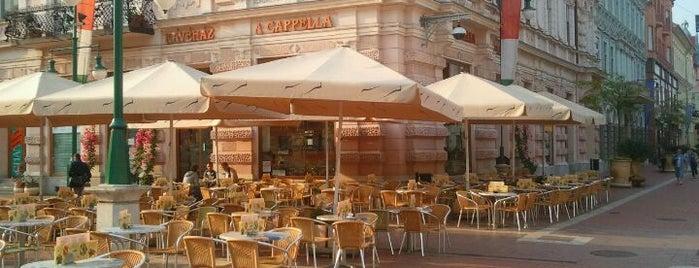 A Cappella Cukrászda és Kávéház is one of Food & Restaurant.