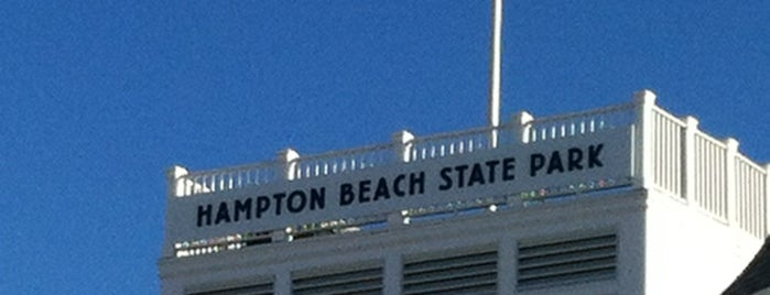 Hampton Beach State Park is one of just a list of places.