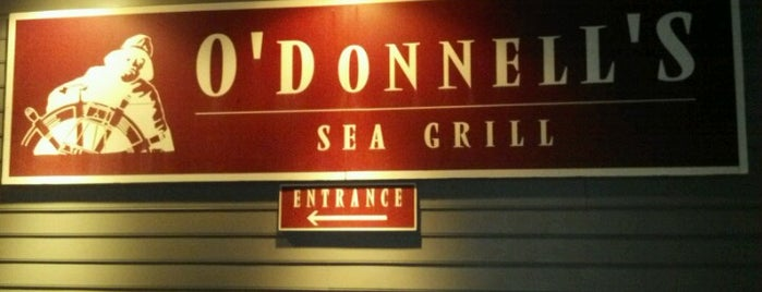 O'Donnell's Sea Grill is one of Favorite places to get food!.