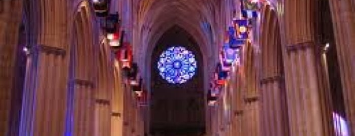 Washington National Cathedral is one of The 15 Best Places for Tours in Washington.