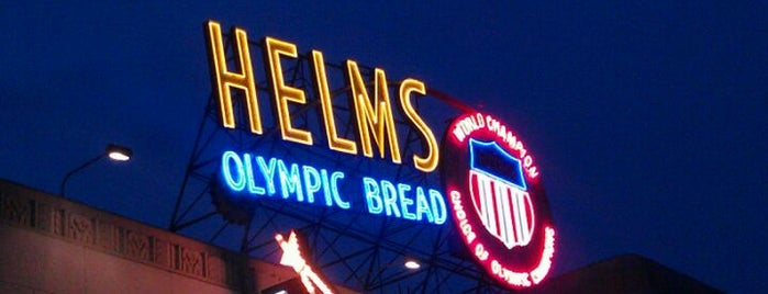 Helms Bakery District is one of Before you leave LA, you must....
