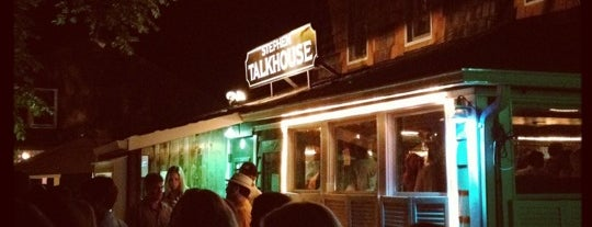 Stephen Talkhouse is one of Hamptons.
