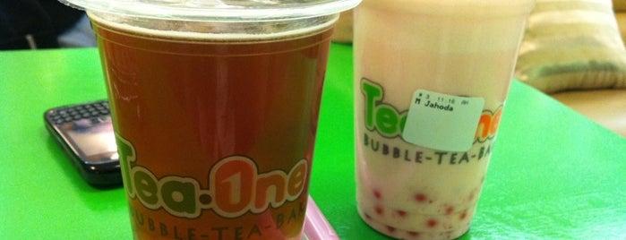 Tea One - Bubble Tea is one of Snobka.cz.