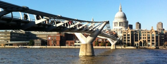 Millennium Bridge is one of Places to Visit in London.
