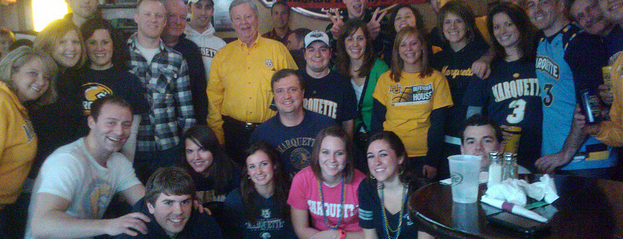 Peanut Farm is one of Marquette game-watching venues.