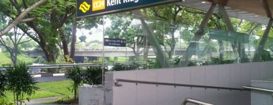 Kent Ridge MRT Station (CC24) is one of le 4sq with Donald :).
