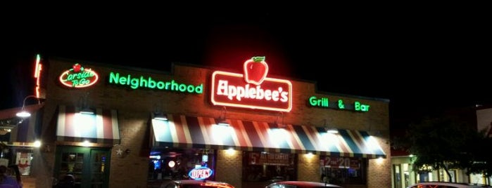 Applebee's is one of Places tried: recommend.