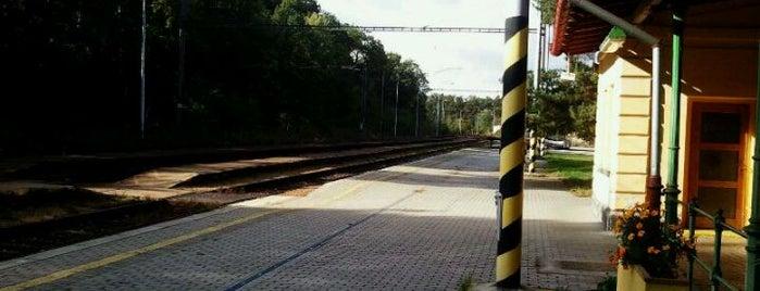 Železniční stanice Hluboká nad Vltavou is one of Železniční stanice ČR: H (3/14).