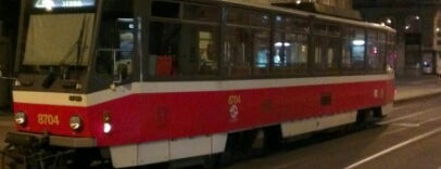 Myslíkova (tram) is one of Food.