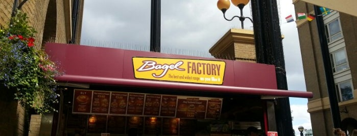Bagel Factory is one of London food.