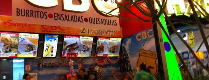 CBC California Burrito Co. is one of Gastronomía en Santiago de Chile.