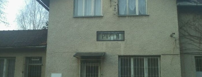 Bývalá žst. Pitín is one of Železniční stanice ČR: P (9/14).