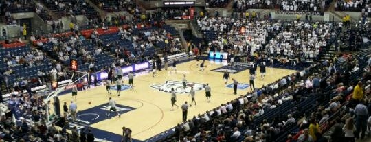 Gampel Pavilion is one of A UConn Tour.