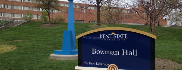 Bowman Hall is one of School.