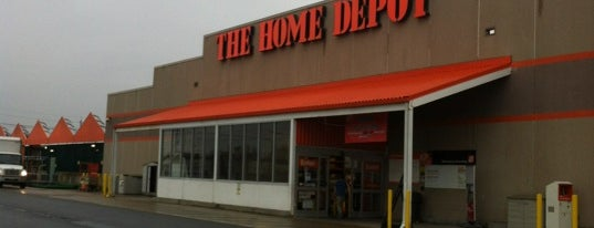 The Home Depot is one of Repeat places.
