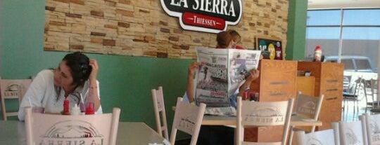 La Sierra is one of Pizzas.