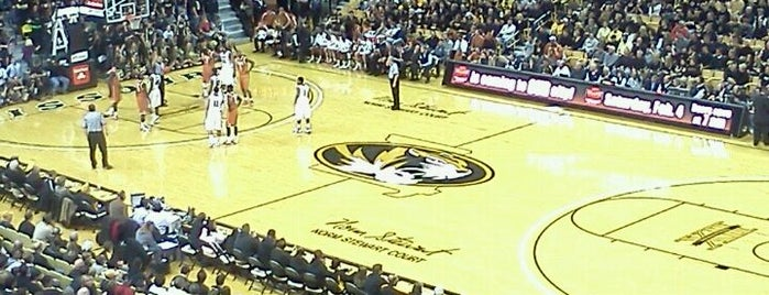 Mizzou Arena is one of Basketball arena.