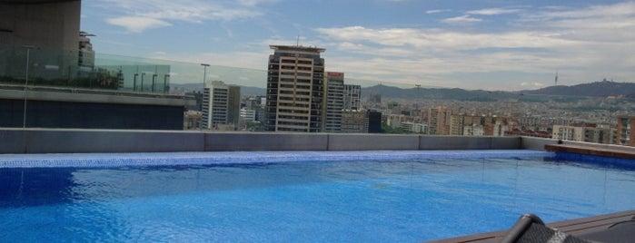 AC Hotel Barcelona Forum is one of Mejores Terrazas en Barcelona.