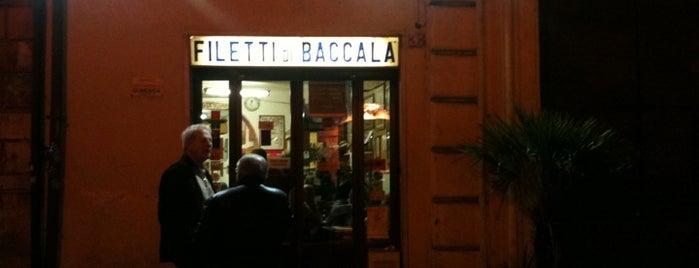 Dar Filettaro A Santa Barbara is one of La Mejo Pappa in Town - Roma.