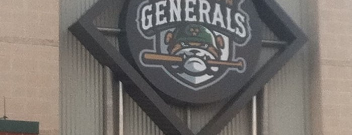 The Ballpark at Jackson is one of MiLB Southern League.