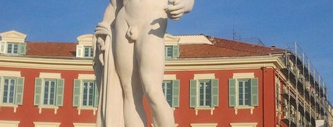 Place Masséna is one of FR2DAY's Guide to the Great Outdoors.