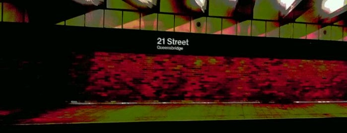 MTA Subway - 21st St/Queensbridge (F) is one of MTA Subway - F Line.