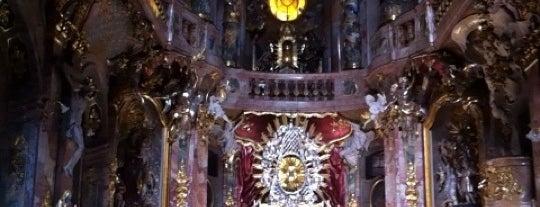 Asamkirche (St. Johann Nepomuk) is one of Munich Sights.