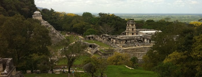 Zona Arqueológica de Palenque is one of Mexican favorites.