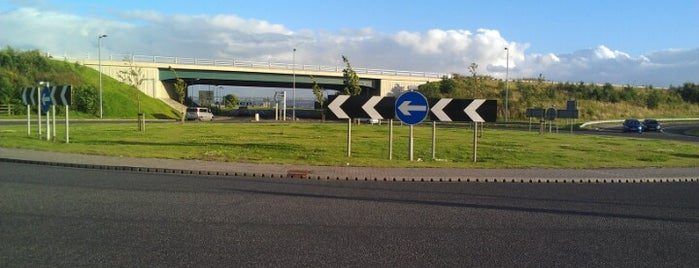 Bowtrees Interchange is one of Named Roundabouts in Central Scotland.