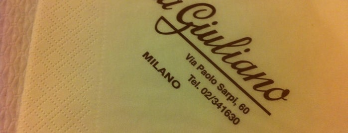 Pizzeria Da Giuliano is one of Italian Restaurant in Chinatown.