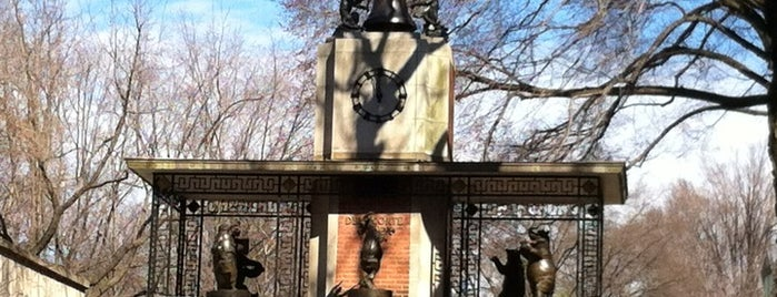 Delacorte Clock is one of Park Highlights of NYC.