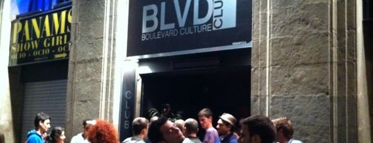 BLVD - Boulevard Culture Club is one of Barcelona.