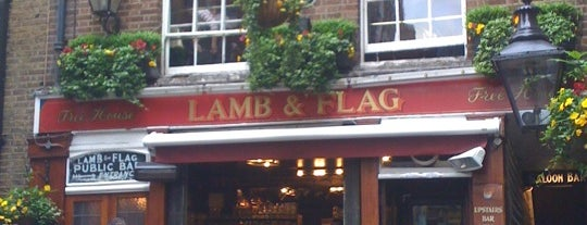 Lamb & Flag is one of London as a local.