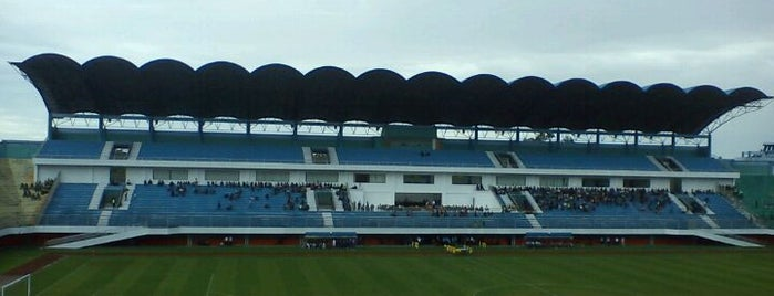 Stadion Maguwoharjo is one of Yogjakarta, Never Ending Asia #4sqCities.