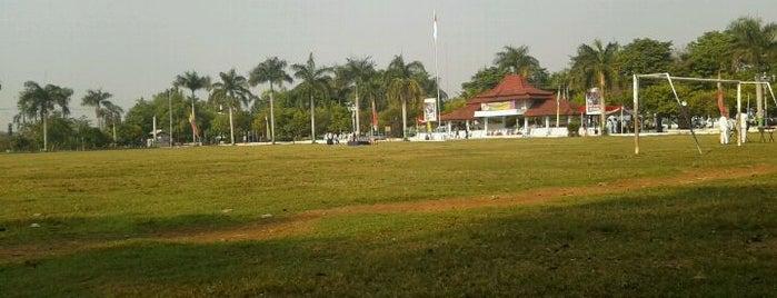 Lapangan Mataram is one of Pekalongan World of Batik.