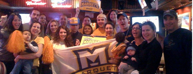 Shula's 2 is one of Marquette game-watching venues.