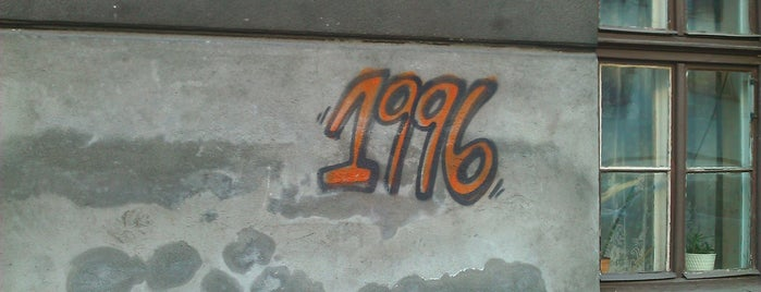 Street Art - Graffiti - 1996 vol VI is one of Street Art w Krakowie: Graffiti, Murale, KResKi.