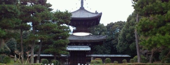 近衞天皇 安樂壽院南陵 is one of 天皇陵.