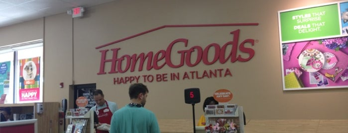 HomeGoods Is One Of The 15 Best Furniture And Home Stores In Atlanta.