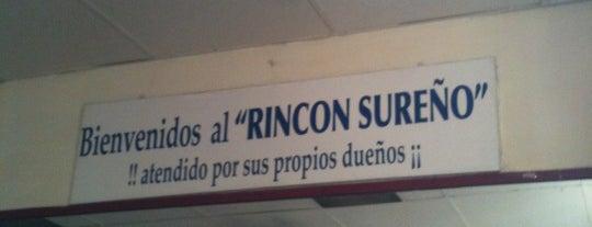 """Rincon Sureño is one of La """"Feria del Sánguche"""" todo el año."""