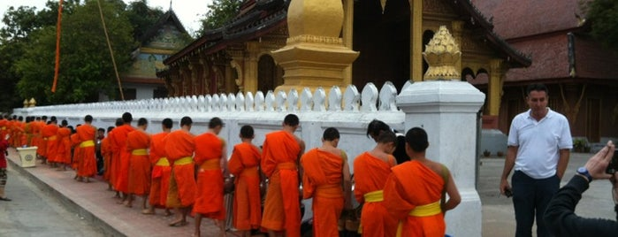 Luang Prabang City is one of UNESCO World Heritage Sites (Asia).