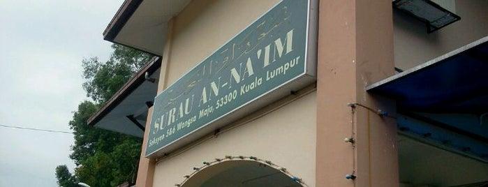 Surau An-Naim Wangsa Maju is one of Baitullah : Masjid & Surau.