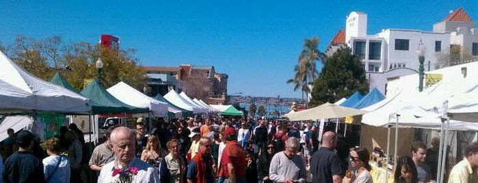 Little Italy Mercato is one of San Diego.