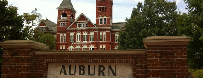 Auburn University is one of Go Green for Orange and Blue.